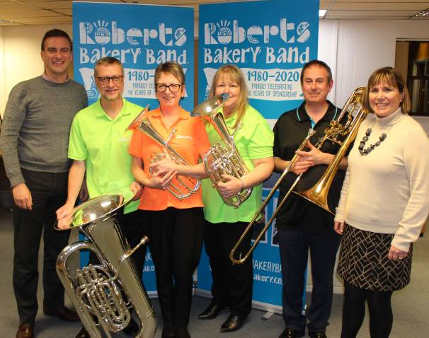 Roberts Bakery Band Strikes A Chord With 40 Year Celebration